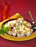 Salade piémontaise au jambon