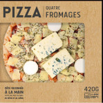 Pizza 4 fromages 420 gr