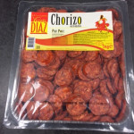 Chorizo tranché