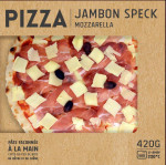 Pizza speck 420 gr