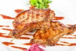 161.5 Côte de porc marinée